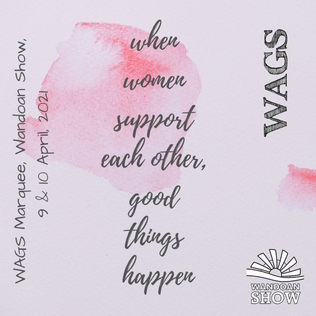 WAGS Support Message