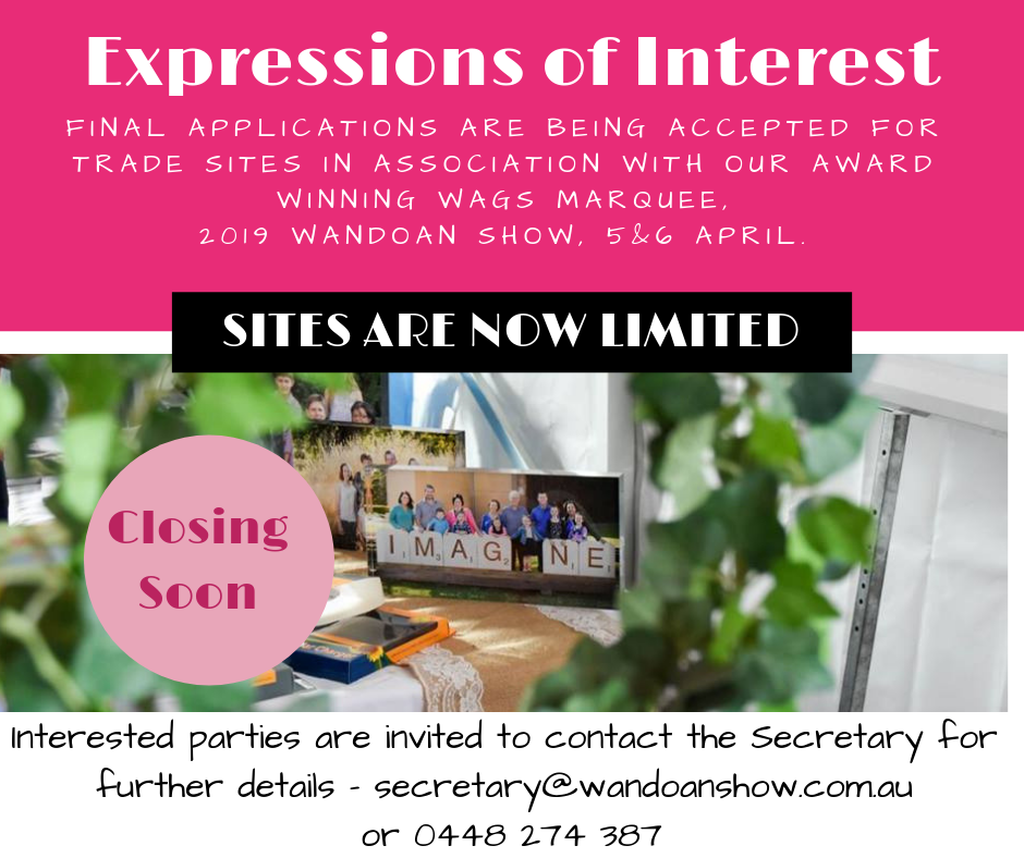 Copy of Expressions of Interest WAGS 2018