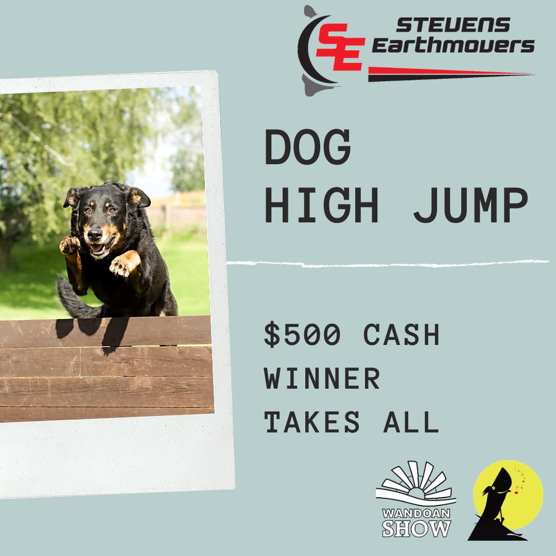 SE Dog High Jump
