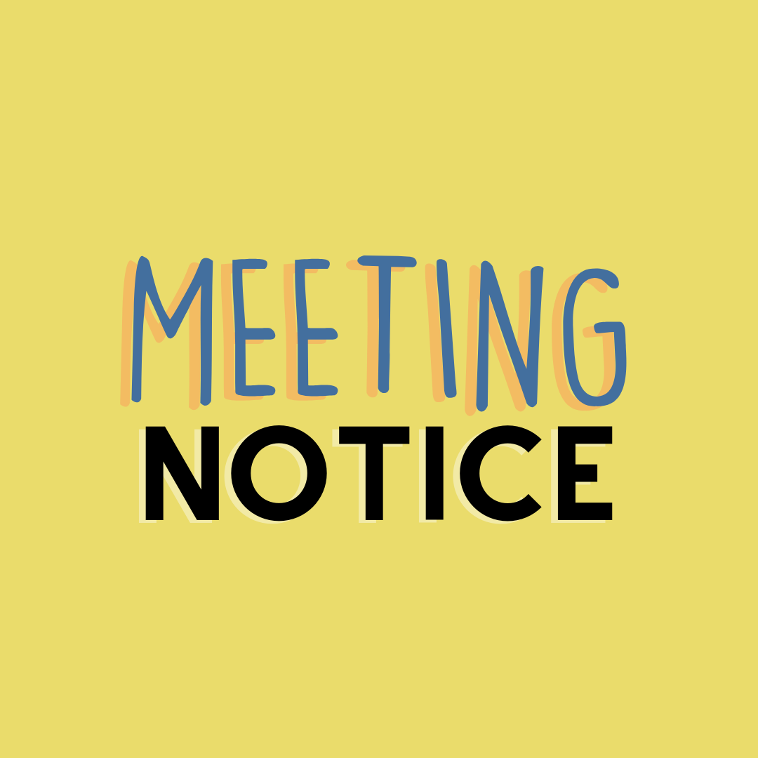 ALL MEETING NOTICES (2)